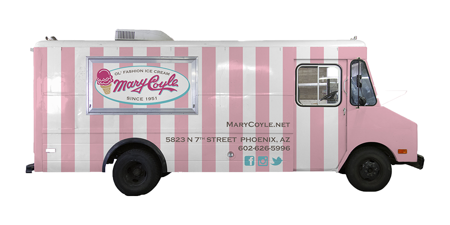 The Mary Coyle Ice Cream Truck